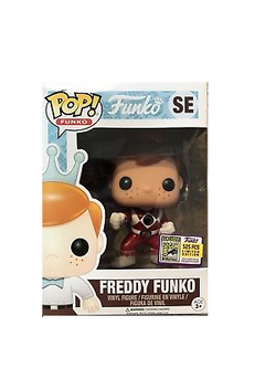 Freddy Funko Pop! Red Ranger #SE