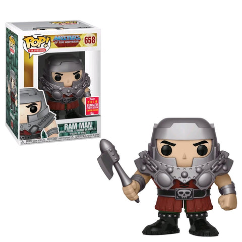 Masters of the Universe Funko Pop! Ram Man (Shared Sticker) #658