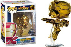 Avengers Infinity War Funko Pop! Iron Man (Gold Chrome)