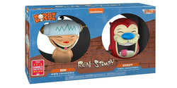 Ren & Stimpy Funko DORBZ Ren and Stimpy 2-Pack (Shared Sticker)