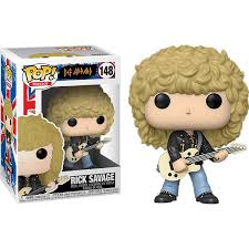 Def Leppard Funko Pop! Rick Savage #148