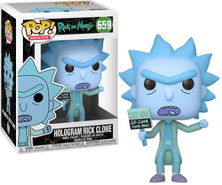 Rick and Morty Funko Pop! Hologram Rick Clone #659