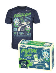 Rick and Morty Funko Apparel Tee C-137's Portal Gun