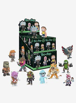 Rick and Morty Funko Mystery Mini Blind Box Series 2 - 12 Unit Display Box
