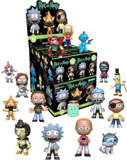 Rick and Morty Funko Mystery Mini Blind Box (Target Exclusive) - 12 Unit Display