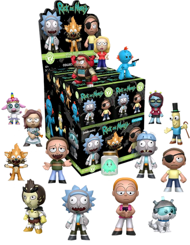 Rick and Morty Funko Mystery Mini Blind Box (Target Exclusive) - Single Unit