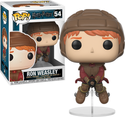 Harry Potter Funko Pop! Ron on Broom #54