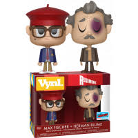 Rushmore Funko Vynl Max Fischer & Herman Blume (Shared Sticker)