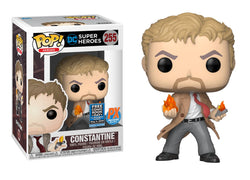 DC Super Heroes Funko Pop! Constantine (with Flames) #255 (Pre-Order)