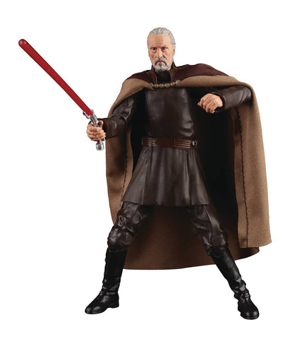 Star Wars The Black Series Count Dooku (Attack of the Clones) 6in (Pre-Order)