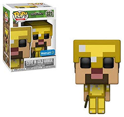 Minecraft Funko Pop! Steve in Gold Armor #321