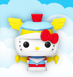 Hello Kitty Funko Pop! Robot (2020 Shared Sticker)  #39