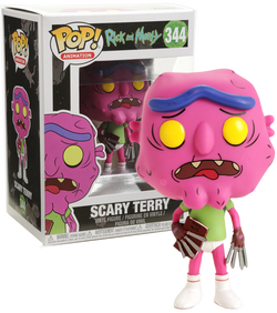 Rick and Morty Funko Pop! Scary Terry (Pantless) #344