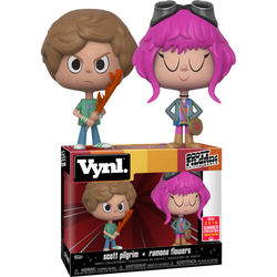 Scott Pilgrim VS. The World Funko VYNL Scott Pilgrim & Ramona Flowers (Shared Sticker)