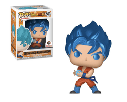 Dragon Ball Funko Pop! Super Saiyan God Super Saiyan Goku (Kamehameha) (Metallic) #563