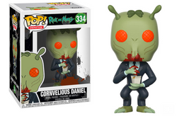 Rick and Morty Funko Pop! Cornvelious Daniel #334