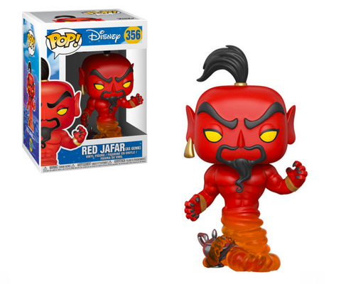 Disney Funko Pop! Red Jafar (as Genie) #356