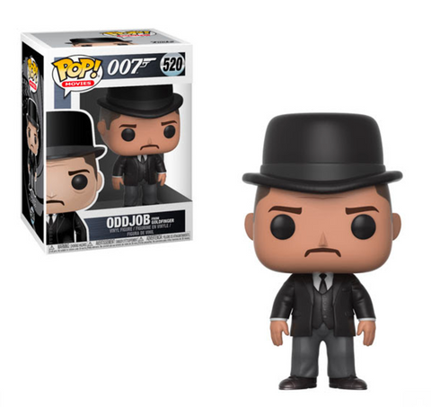 007 Funko Pop! Oddjob from Goldfinger #520