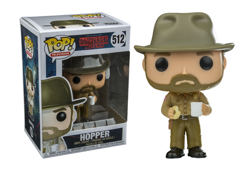 Stranger Things Funko Pop! Hopper #512