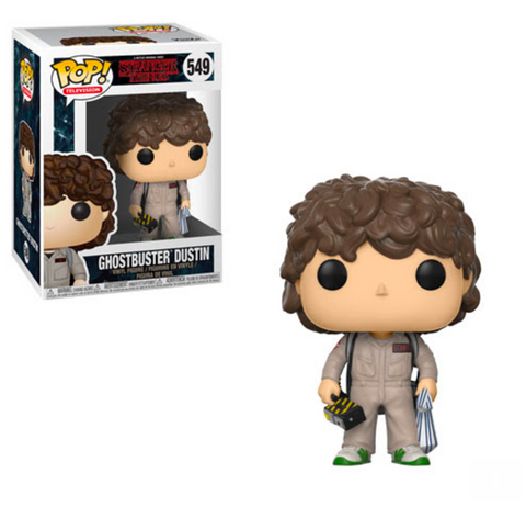 Stranger Things Funko Pop! Ghostbuster Dustin