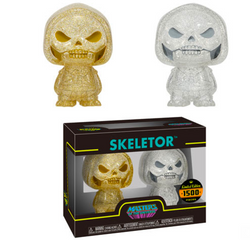 Masters of the Universe Funko Hikari (XS) Skeletor (Gold/Silver)