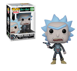 Rick and Morty Funko Pop! Prison Break Rick #339