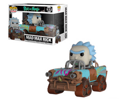 Rick and Morty Funko Pop! Mad Max Rick #37