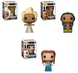 A Wrinkle in Time Funko Pop! Complete Set of 3 Mrs. Who, Which, Whatsit (Pre-Order)