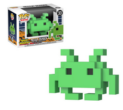 8-bit Space Invaders Funko Pop! Medium Invader