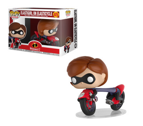 Incredibles 2 Funko Pop! Elastigirl on Elasticycle #45