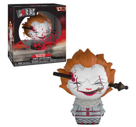 IT Funko DORBZ Pennywise (Wrought Iron) #474