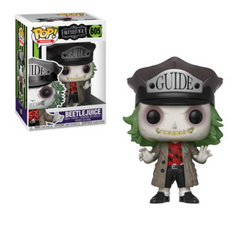 Horror Funko Pop! Beetlejuice (With Hat) #605