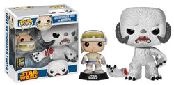 Star Wars Funko Pop! Luke Skywalker [Hoth] and Wampa
