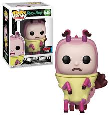 Rick and Morty Funko Pop! Shrimp Morty (Shared Sticker) #645