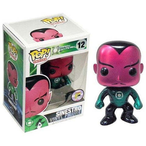 Green Lantern Funko Pop! Sinestro (Metallic) #12