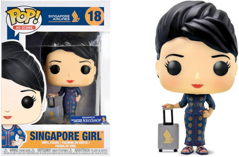 Ad Icons Funko Pop! Singapore Girl #18