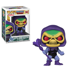 Masters of the Universe Funko Pop! Skeletor with Damaged Battle Armor #563