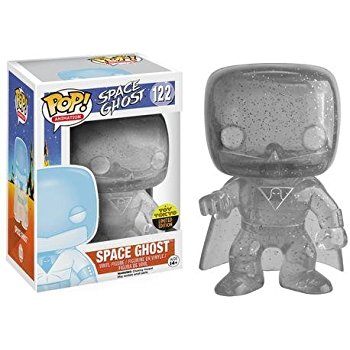 Space Ghost Funko Pop! Space Ghost (Clear) (TT Sticker) #122