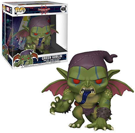 Spider-Man Into the Spiderverse Funko Pop! Green Goblin 10in #408