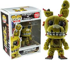 Five Night at Freddy's Funko Pop! Springtrap (Flocked)