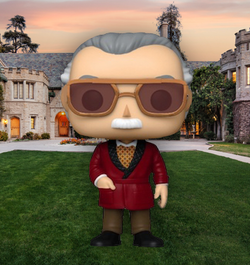 Iron Man Funko Pop! Stan Lee (in Robe) (2020 Shared Sticker) #656 (Pre-Order)