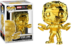 Marvel Funko Pop! Star-Lord (Gold Chrome) #353