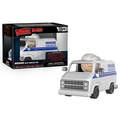 Stranger Things DORBZ Ridez Brenner with Hawkins Van