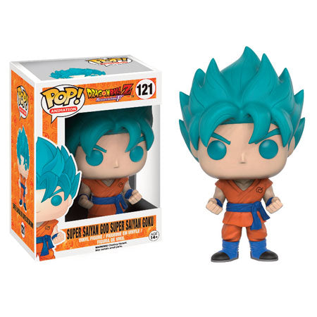 Dragon Ball Z Funko Pop! Super Saiyan God Super Saiyan Goku #121