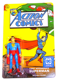 Superman Funko Action Comics First Appearance Superman
