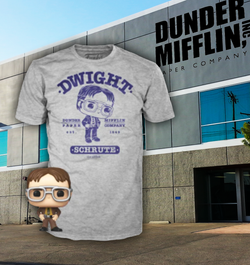 The Office Funko Pocket Pop! & Apparel Tee Dwight Schrute (Pre-Order)