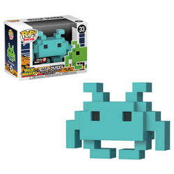 Space Invaders Funko Pop! Medium Invader (Teal) #33 (Pre-Order)