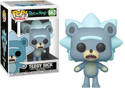 Rick and Morty Funko Pop! Teddy Rick #662