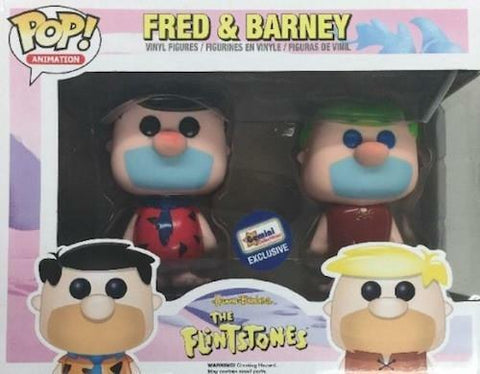 The Flintstones Funko Pop! Fred & Barney (2-Pack)