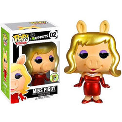 The Muppets Funko Pop! Miss Piggy (Metallic)